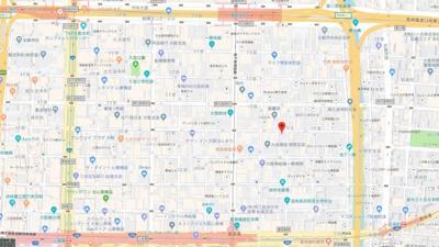 【地図】ティックランド南船場