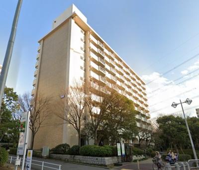 【外観】清新プラザマンション4号棟 10F 最 上階 リ フォーム済