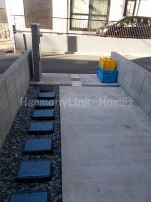 ハーモニーテラス足立Ⅱの駐輪スペース