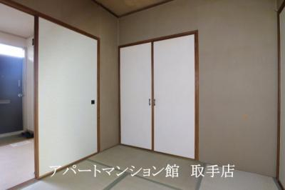 【寝室】ハイム新取手