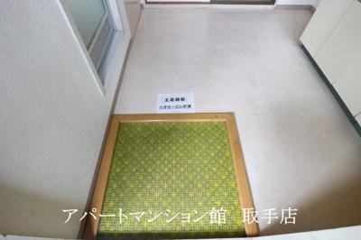 【玄関】ハイム新取手