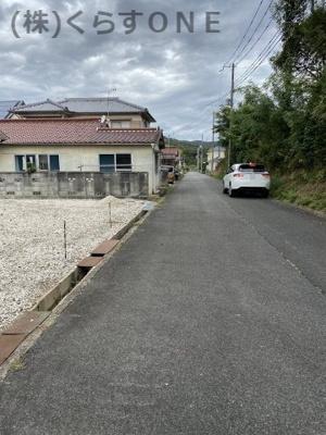 【前面道路含む現地写真】相生市緑ヶ丘3丁目/売土地