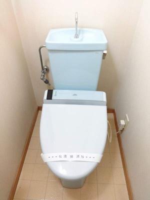 【トイレ】コーポリバーサイド