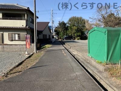 【前面道路含む現地写真】相生市那波野1丁目/売土地