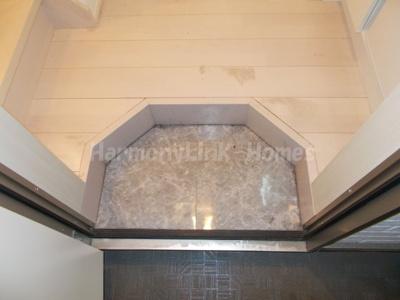 ハーモニーテラス亀有の玄関