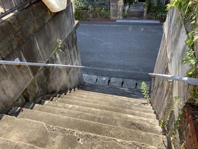 【前面道路含む現地写真】相生市菅原町/売土地