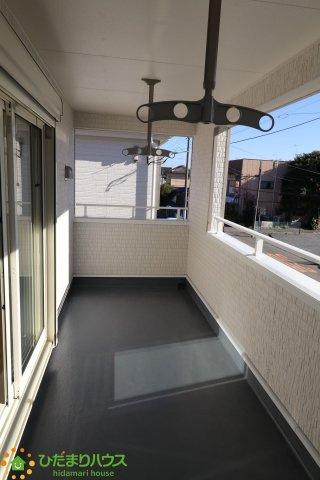 【バルコニー】古河市東本町 第2 新築一戸建て 01 クレイドルガーデン