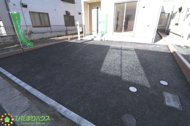 【駐車場】古河市東本町 第2 新築一戸建て 01 クレイドルガーデン