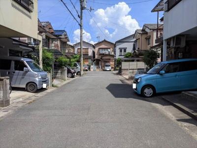 【前面道路含む現地写真】京都市山科区東野竹田