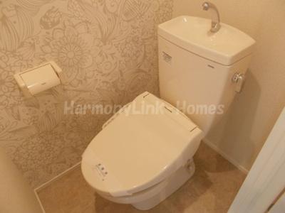 ハーモニーテラス巣鴨のトイレもきれいです