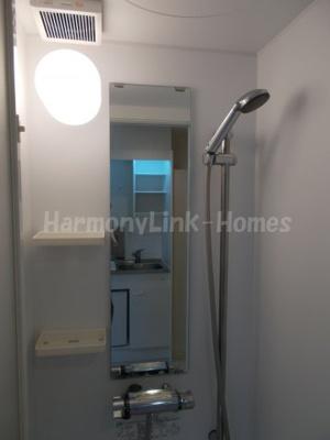 ハーモニーテラス巣鴨の落ち着いた空間のシャワールームです