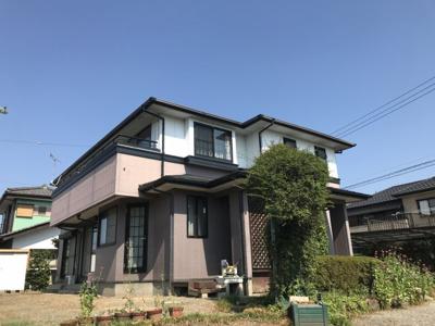 【外観】藤岡市上戸塚の二世帯中古戸建