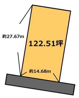 【土地図】東田中 735万円
