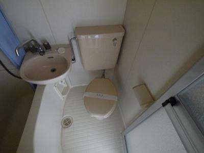 【トイレ】サンハイツ新大宮