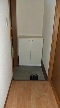 【玄関】パルム弐番館