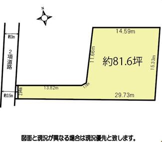 【土地図】鴻巣市下忍の売地【No.10376】