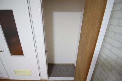 洋室入口側収納