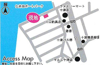 【地図】十津 4LDK