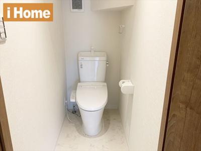 トイレ交換済みなので、気持ちよくお使いいただけます♪