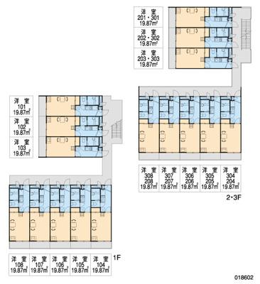 【区画図】レオパレス三津屋