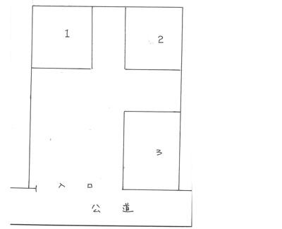 【区画図】持田駐車場