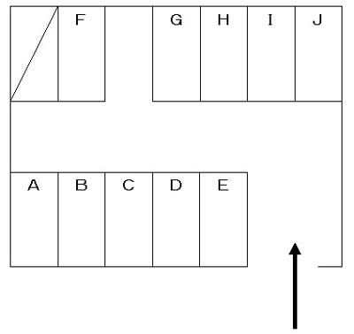 【区画図】大谷駐車場