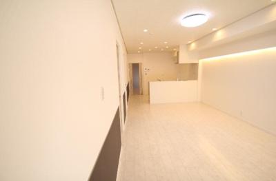 【居間・リビング】星和東砂ハイツ 3階部分 リノベーション済