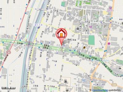 【地図】プレサンス京都五条大橋レジェンド
