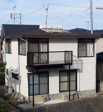 【外観】鳥取市東今在家中古戸建て