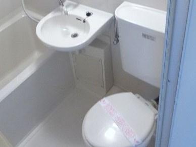 【浴室】コーポ朝日Ⅶ