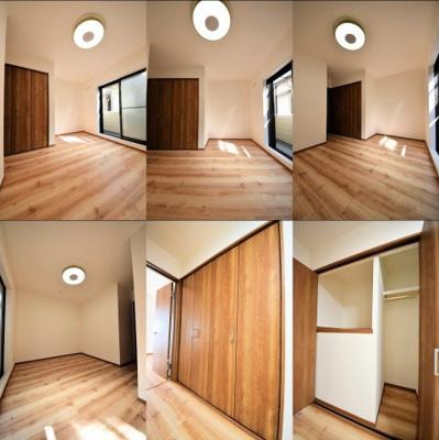 2階洋室、収納