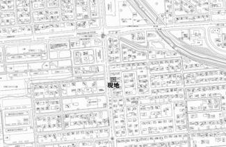 【地図】桂町4丁目 売土地