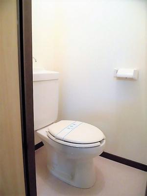 【トイレ】オーユーハイツ