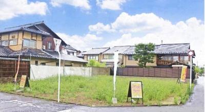 【外観】北白川東小倉町 3区画分譲地 3号地