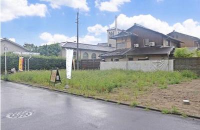 北白川東小倉町 3区画分譲地 3号地