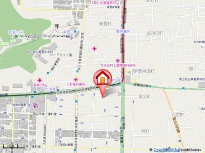 【地図】インペリアル一番町
