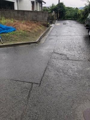 【前面道路含む現地写真】【売地】粉河中学校区・56615