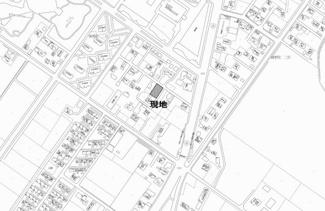 【地図】端野町二区 売土地