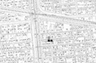 【地図】西富町3丁目 売土地