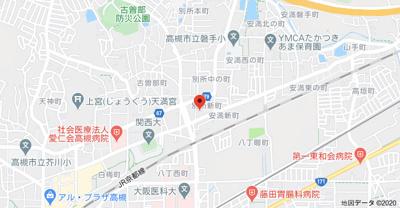 【地図】ジャスミンハイツ (株)Roots'