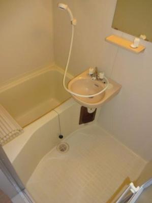 【浴室】桂マンション