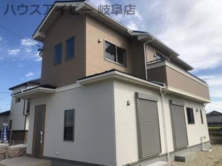 岐阜市西鶉5丁目 新築戸建 全3棟 完成しました オール電化住宅 玄関吹き抜け お車スペース並列3台可能!
