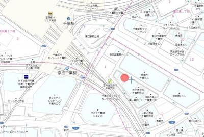 【地図】富士見ハイライトビル