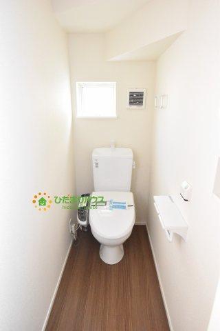 【トイレ】鴻巣市宮前 新築一戸建て リナージュ03