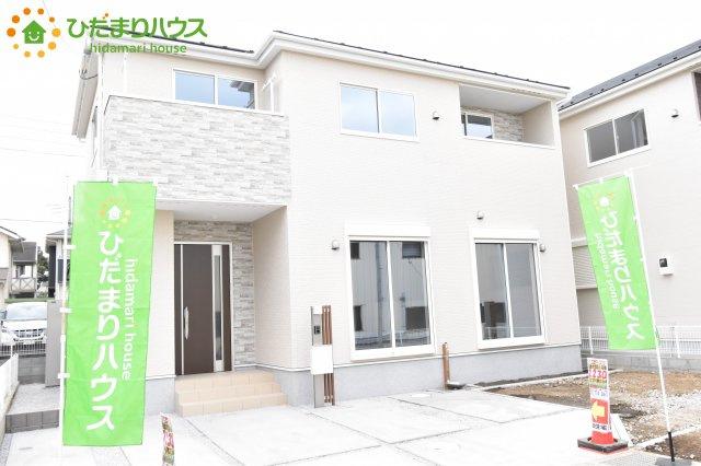 【外観】鴻巣市宮前 新築一戸建て リナージュ03