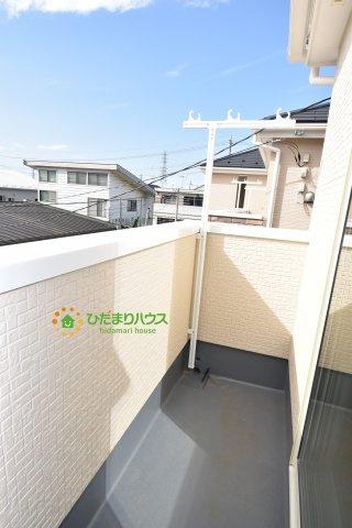 【バルコニー】鴻巣市宮前 新築一戸建て リナージュ03