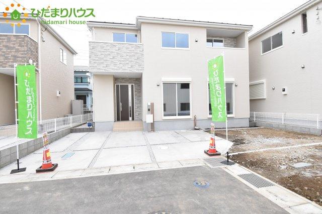 【前面道路含む現地写真】鴻巣市宮前 新築一戸建て リナージュ03