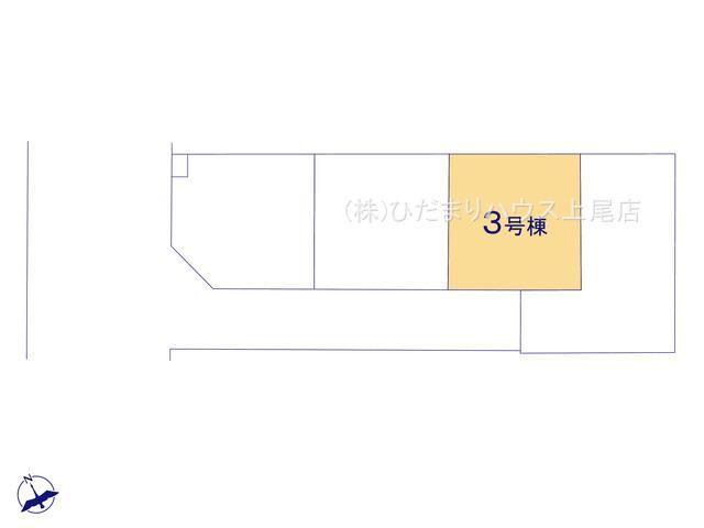 【区画図】鴻巣市宮前 新築一戸建て リナージュ03