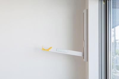 室内物干しスペースがあるので、一人暮らしの女性や花粉症、PM2.5などで外に洗濯物を干したくない方には、あると便利ですね(*^^*)