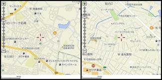 【地図】サンハイツ(旭台)